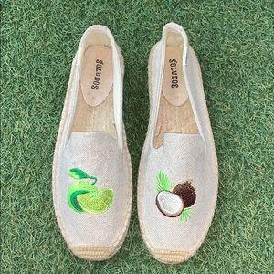Brand new soludos smoking slipper